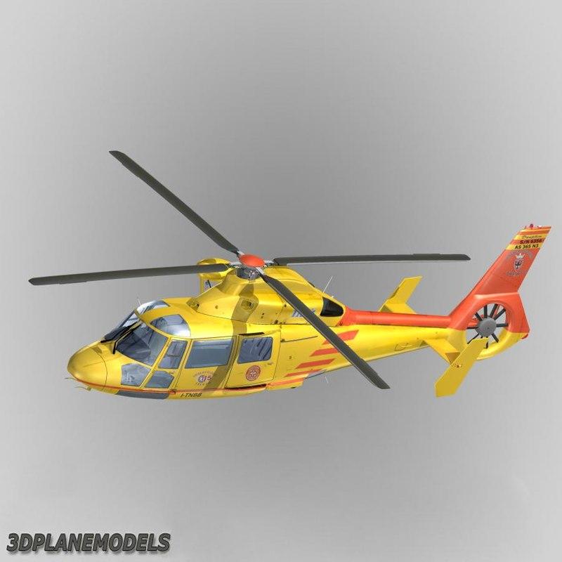 Eurocopter AS365 Dauphin II Vigil Del Fuoco