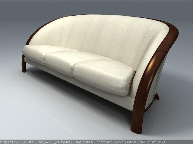Sofa and armchair NIERI Mitos