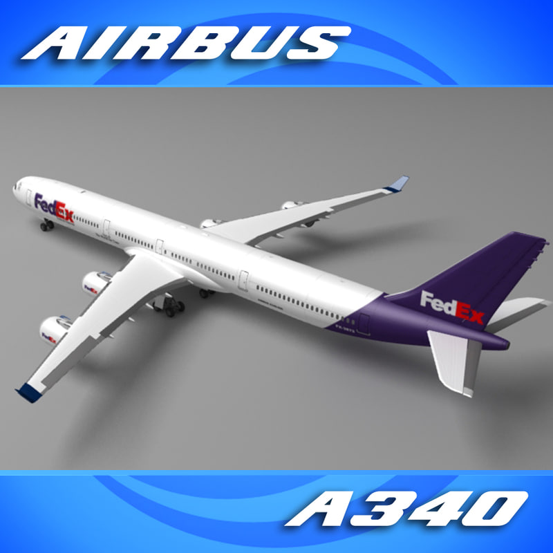 Airbus A340 (Popular Freight Company)
