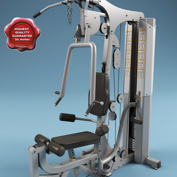 Multi Gym V2 3D Models