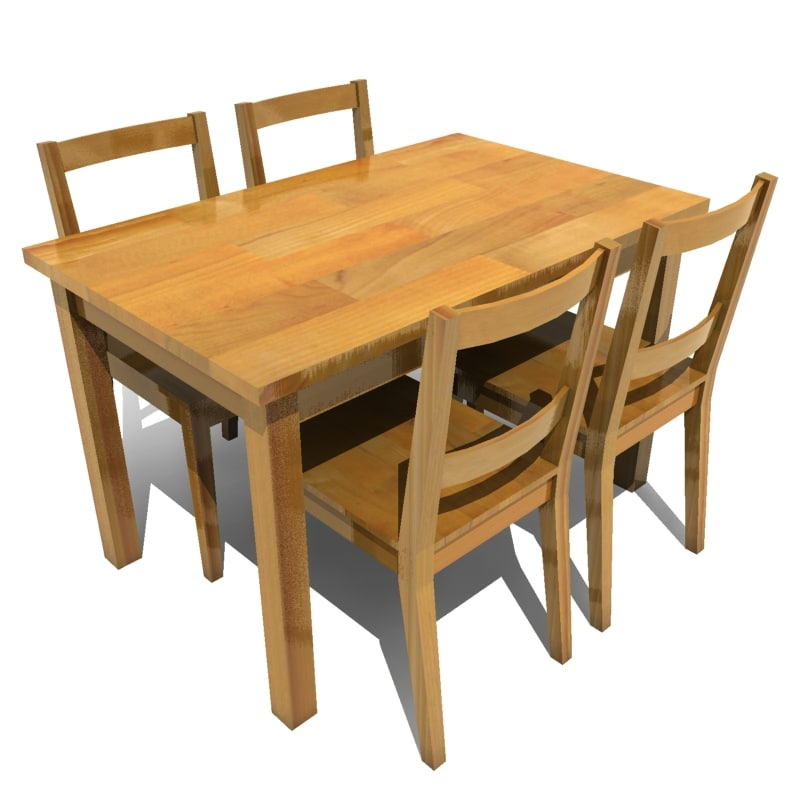 HD wallpapers dining table set for four