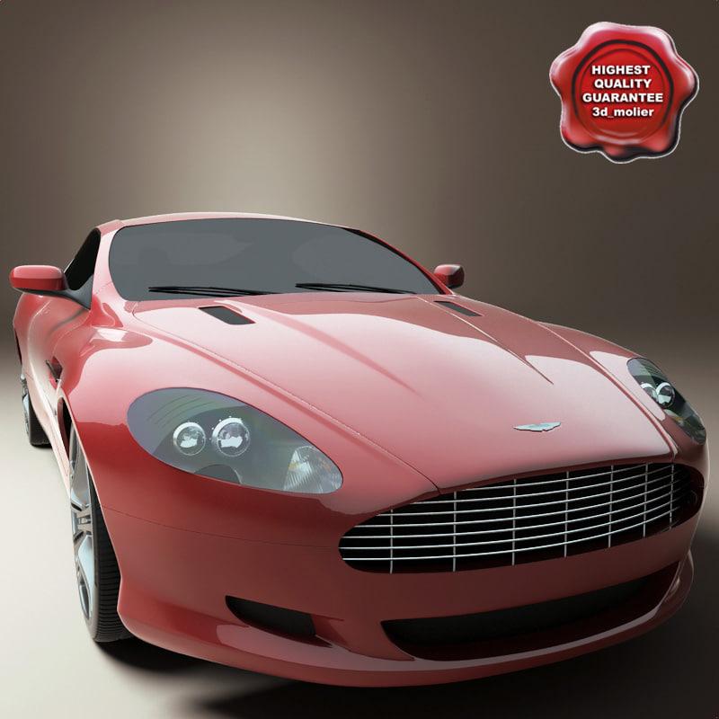 2006 Aston Martin Vantage Interior: Realistic Aston Martin Db9 3d Model