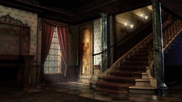 Victorian Interior 3D Models