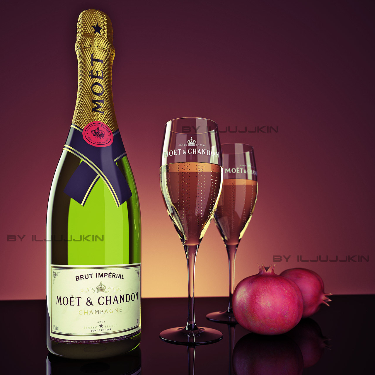 Champagne Moet Chandon 2
