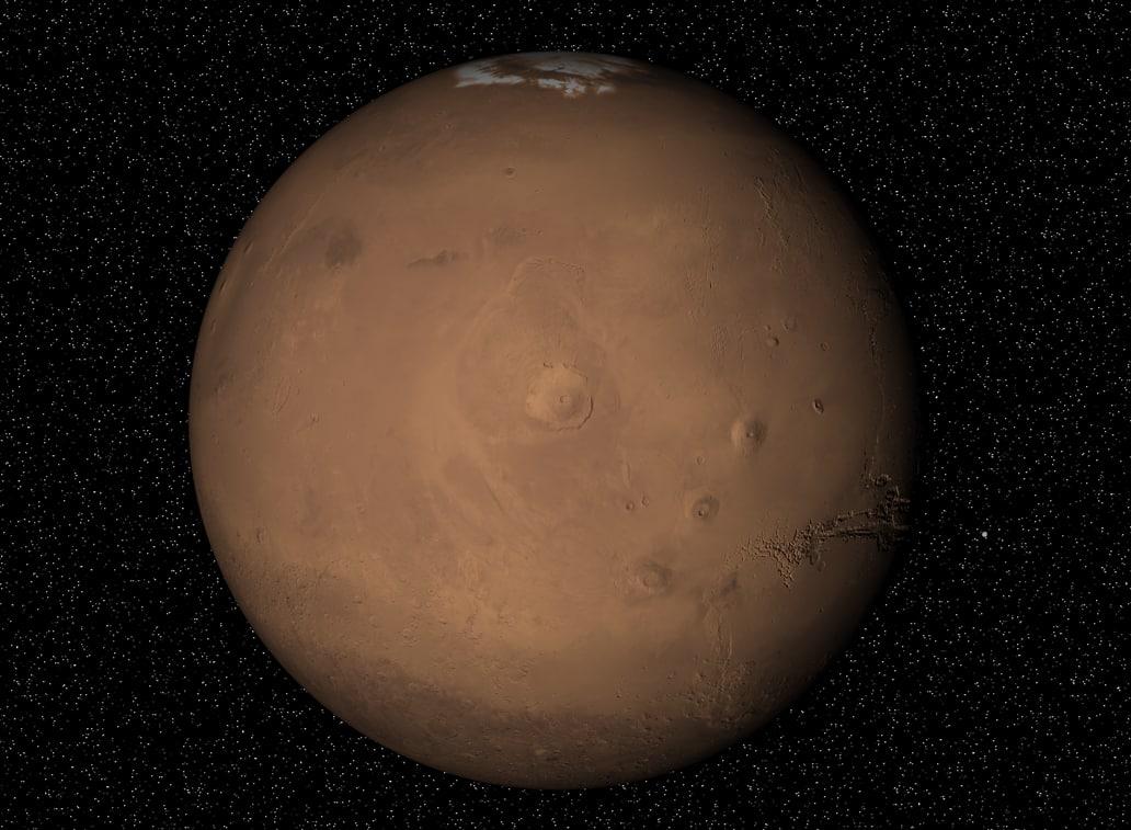 model of planet mars - photo #20