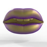 lips 3D models