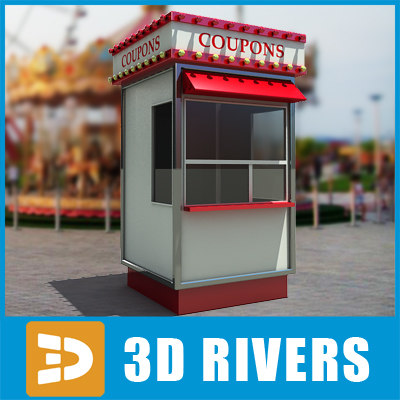 Box office by 3DRivers 3D Models
