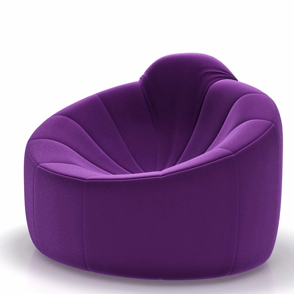 3d armchair ligne roset pumpkin model. Black Bedroom Furniture Sets. Home Design Ideas