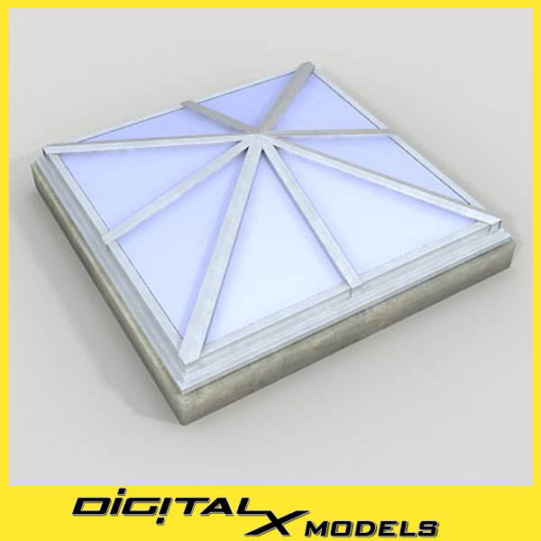 rooftop Skylight 2 3D Models