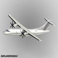 ATR 42 3D models