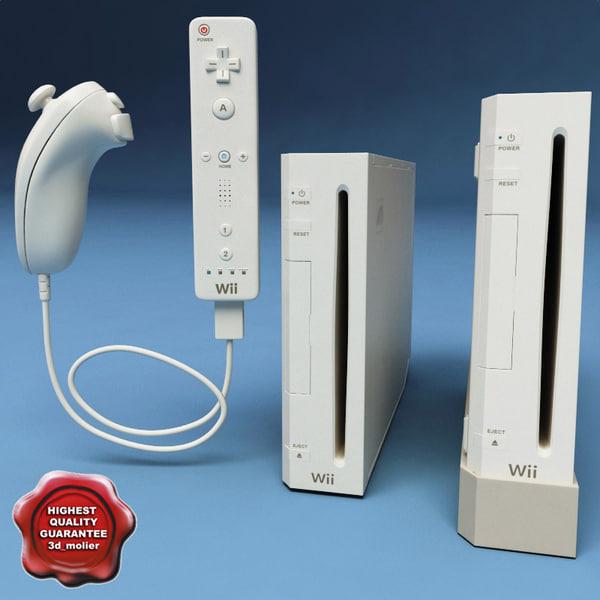 Nintendo Wii2 3D Models