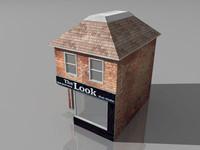 barber shop 3D models