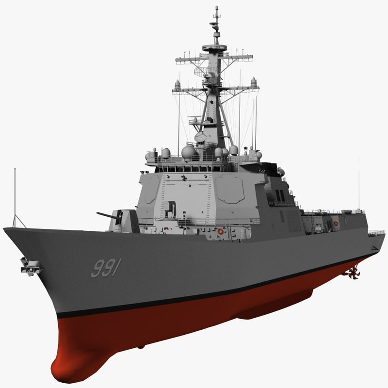 Korea King Sejong the Great Destroyer (KDX-III)