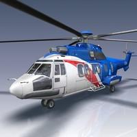 Eurocopter EC225 3D models