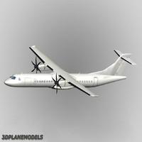 ATR 72-500 3D models