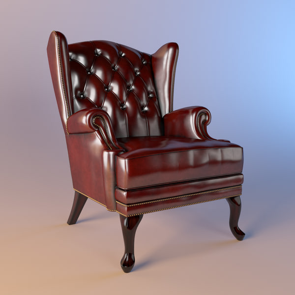 Mascheroni Stoccolma Armchair 3D Models