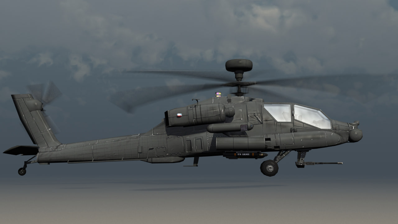 Helicopter apache games longbow