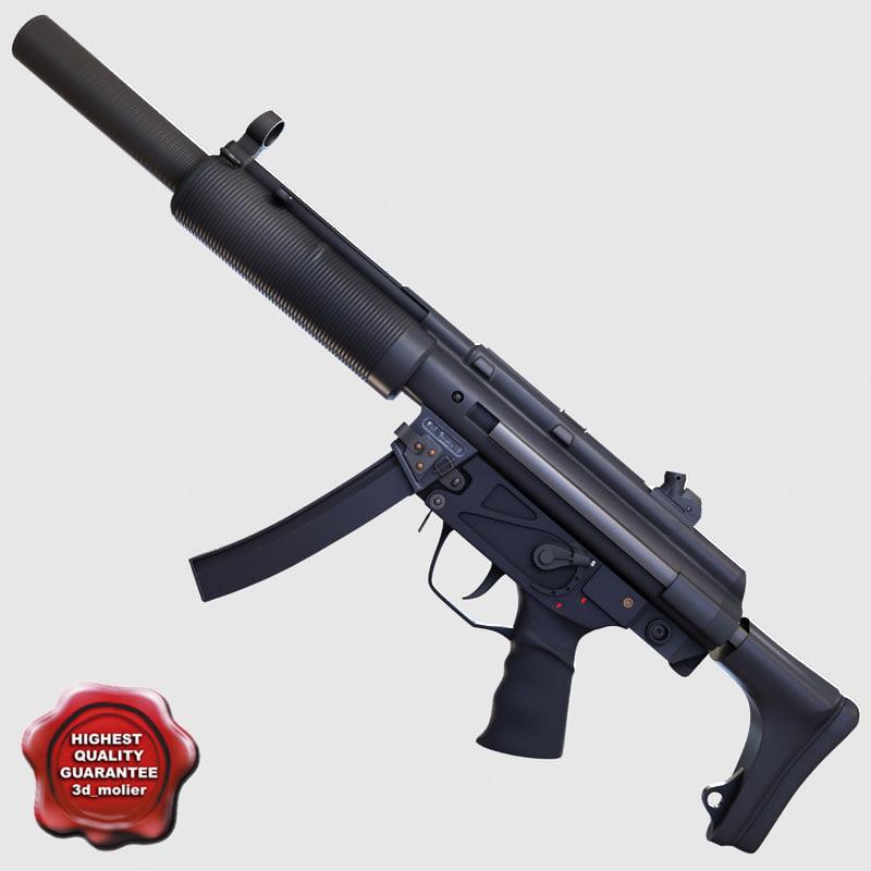 Submachine gun sd3