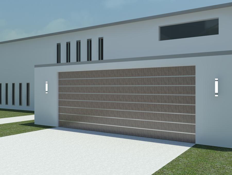 ... Garage Door Inspiring Photos Gallery Revit 3d Models ...