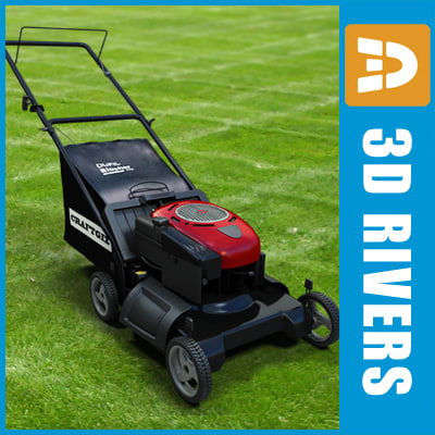 Lawn mower 01 by 3DRivers Texture Maps