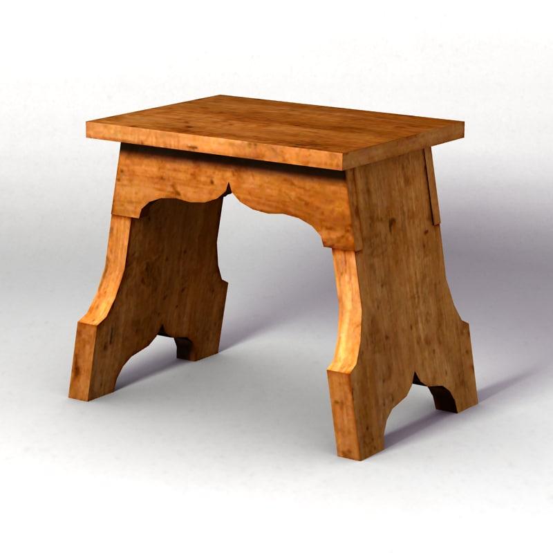 medieval bench 2