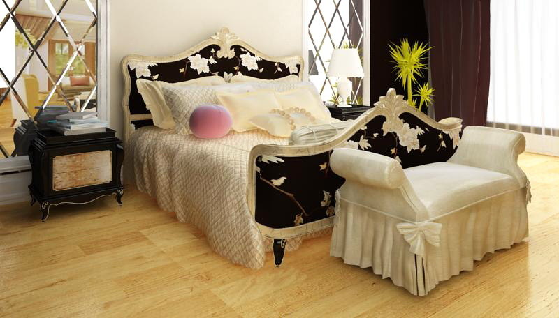 Combination of classical bed