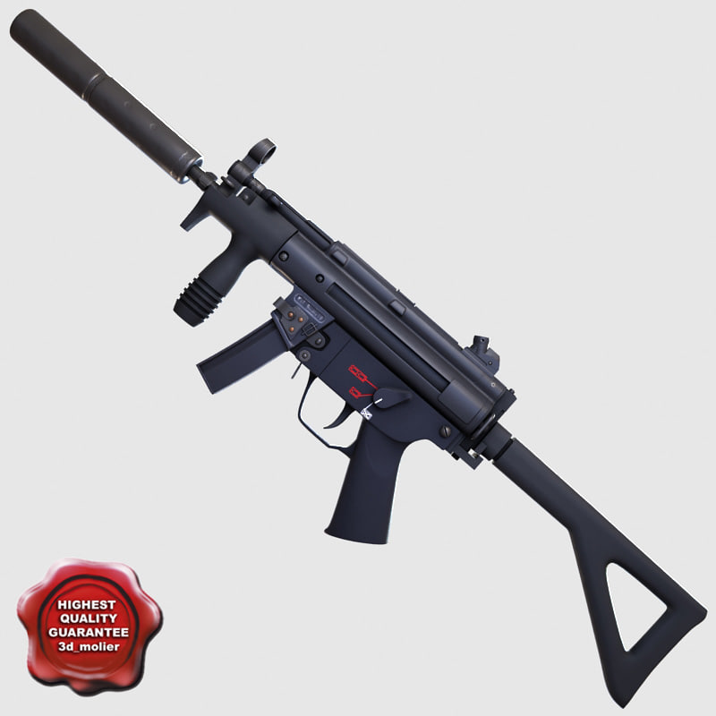 Submachine gun pdw
