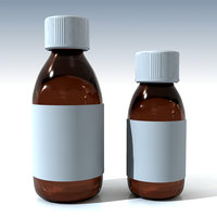 Cough Medicine 3D models