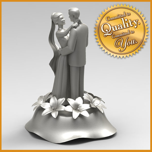 Cake Topper 3D Models
