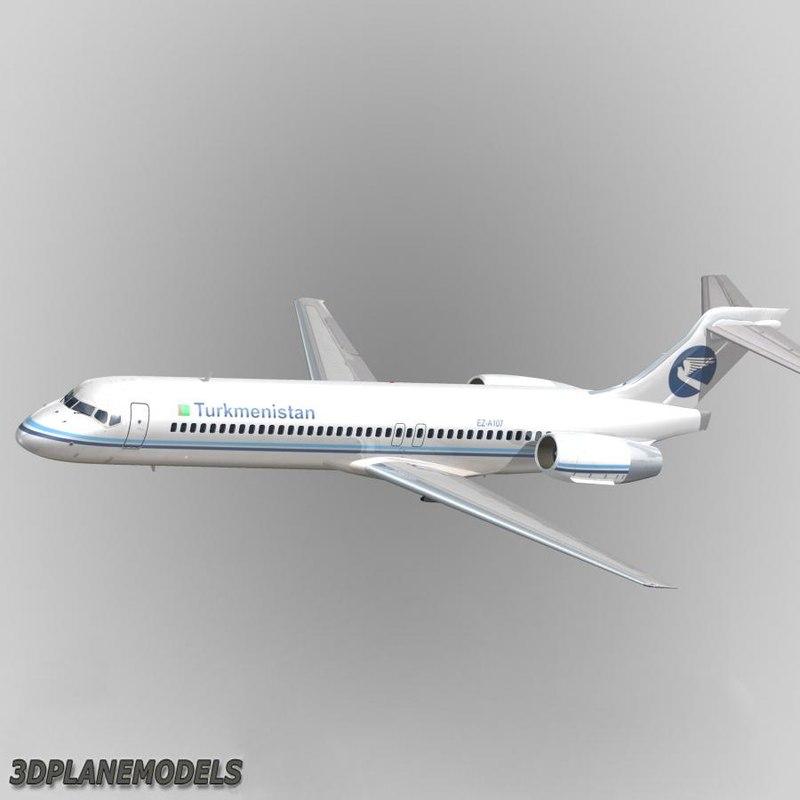 B717-200 Turkmenistan Airlines