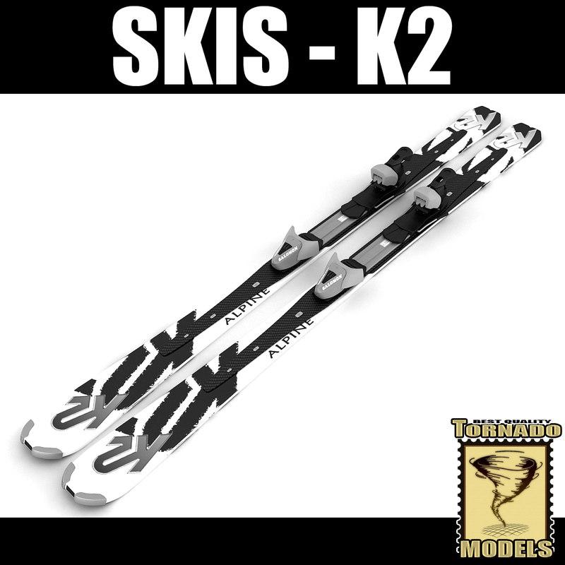 K2 Alpine Skis