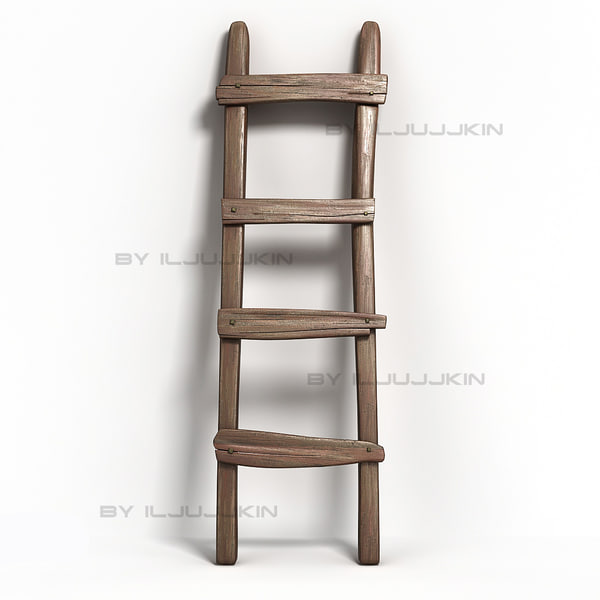 Ladder old 3D Models