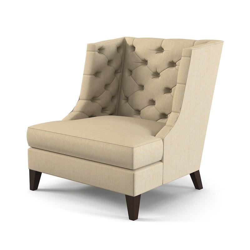 Baker Thomas Pheasant Wing Armchair 6221