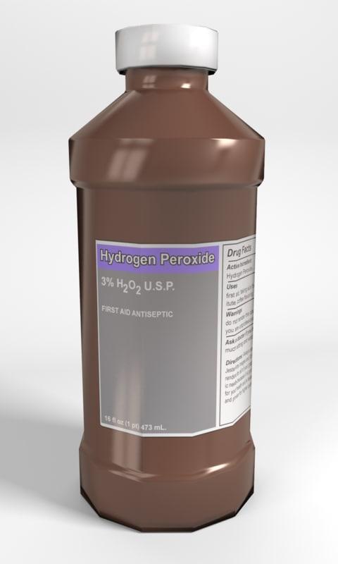 3d model peroxide - Unknown uses hydrogen peroxide ...