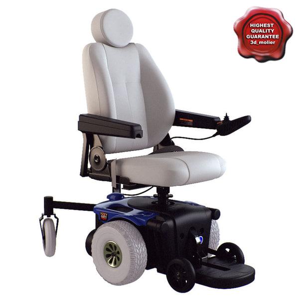 Power Wheelchair 3D Models