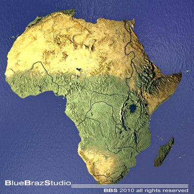 Africa 3D Models