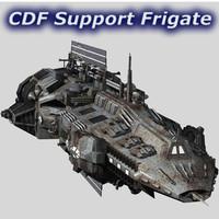 CDF spacecraft 3D models