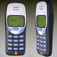 Nokia 3210 3D models