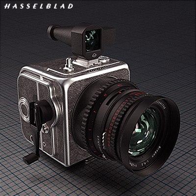 Hasselblad Super Wide Camera 3D Models