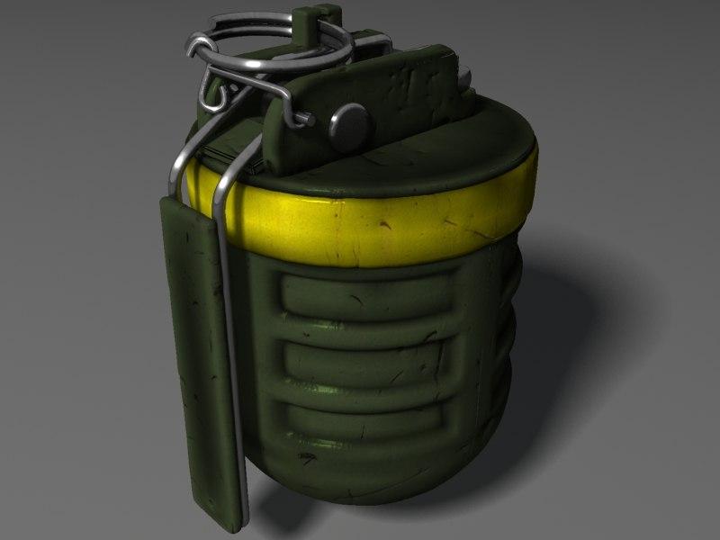 F1 Fragmentation Grenade