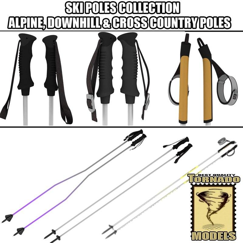 Ski Poles Collection