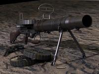 Lewis Gun 3D models