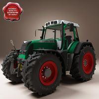fendt 820 3D models