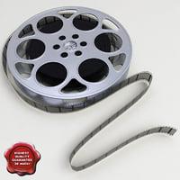 film reel 3D models
