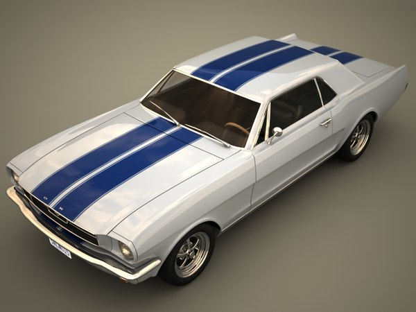 Ford Mustang coupe 3D Models