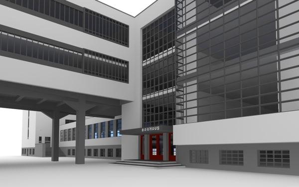 Bauhaus 3D Models