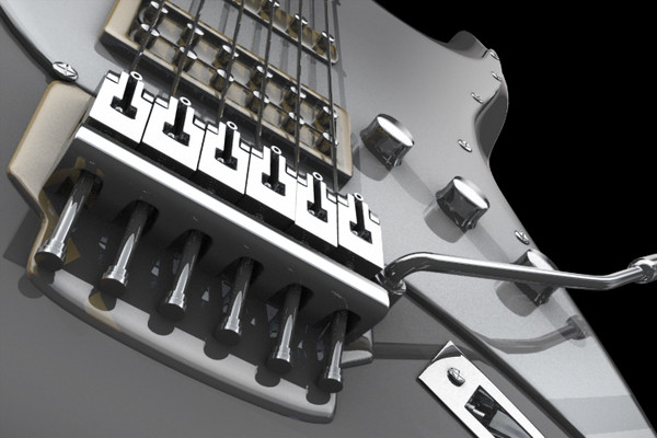 electro guitar 3D Models