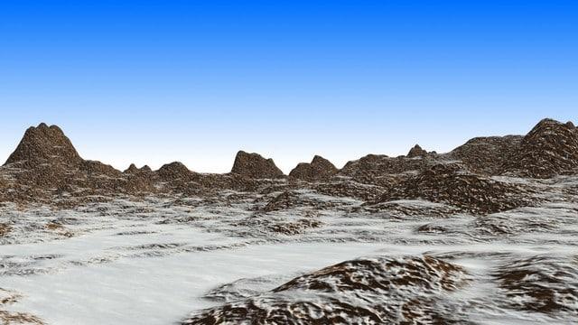 Snowy Terrain Area