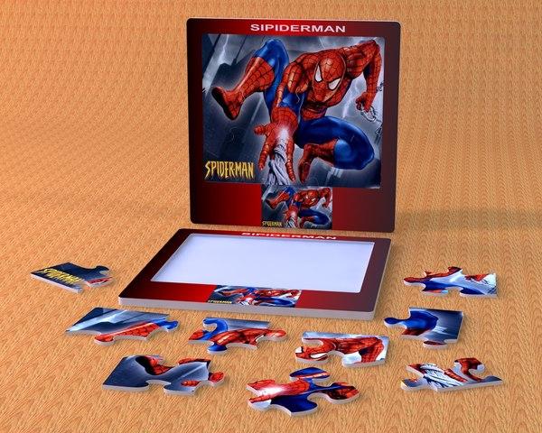 SPIDER MAN PUZZLE 3D Models