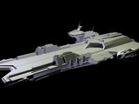 Gundam spacecraft 3D models